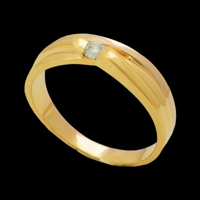 south indian style diamond and gold ring